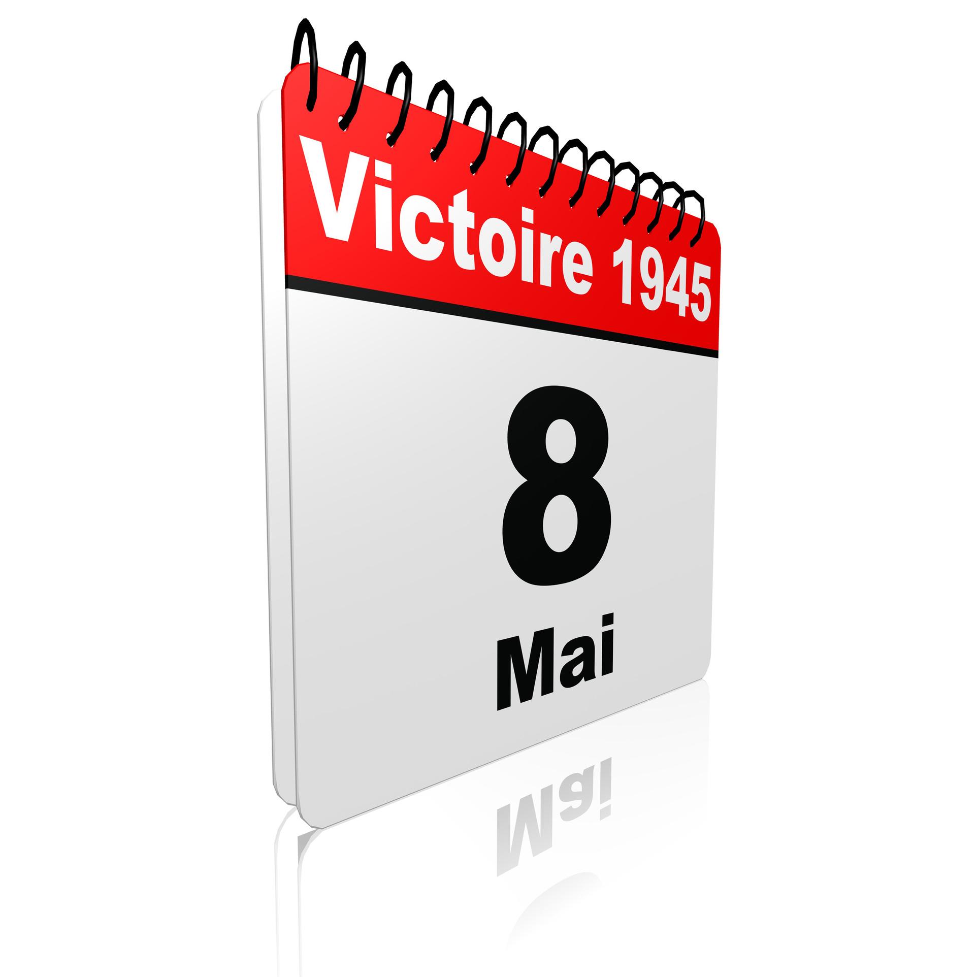 Ephéméride jour férié : victoire 1945